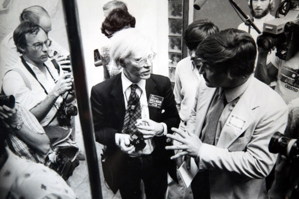Michael Wallis Interviews Andy Warhol